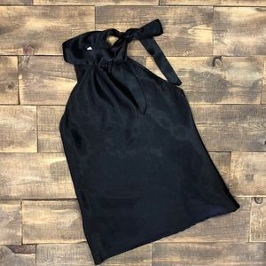 Tempted Blouse Tie Neck Closure Sexy Date Night